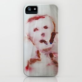 Trauriger junge iPhone Case