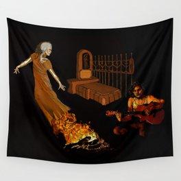 Dia de los Muertos: Private Seance Wall Tapestry