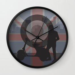 Scooter Boy 1 Wall Clock