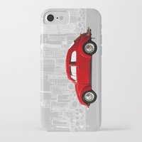 volkswagen iPhone & iPod Cases featuring red volkswagen  by Arefin