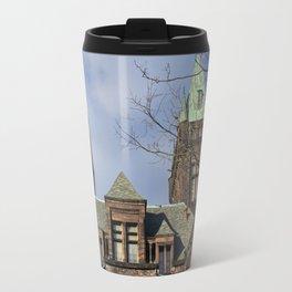 richardson towers, front. Travel Mug