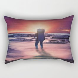 The Sunset Rectangular Pillow