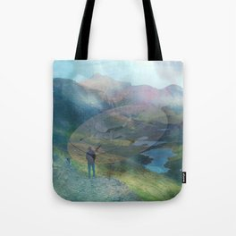 What is Reality? #2, Fun UFO image Tote Bag