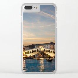 Ponte Rialto Venice Clear iPhone Case