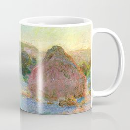 Stacks of Wheat (End of Summer) - Claude Monet Coffee Mug