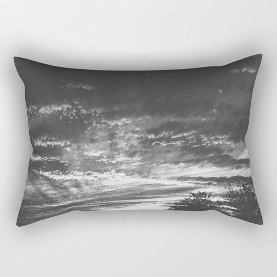 The Night Lands Rectangular Pillow