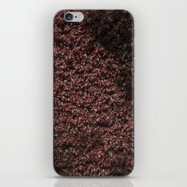 Autumn's red hedge iPhone Skin