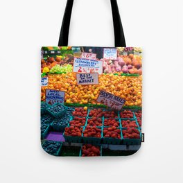 pike place fruit Tote Bag