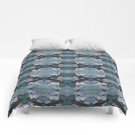 ATOMIC SQUID ZEPPELIN Comforters
