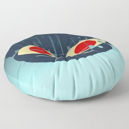 Mae - Nightmare eyes Floor Pillow