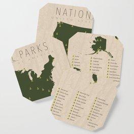 US National Parks Coaster
