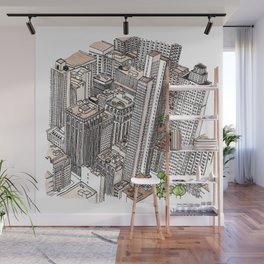 New York View Wall Mural