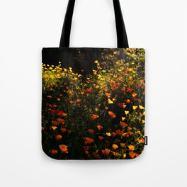 Beautiful garden flowers Tote Bag