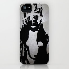 Don't Ride Without A Helmet iPhone Case