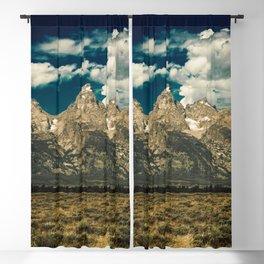 Mountain Summer Escape Blackout Curtain