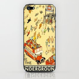 The Lure Of The Underground iPhone Skin