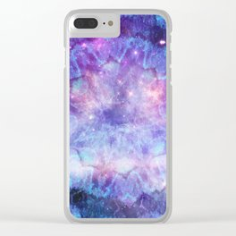 Purple Galaxy - Psychedelic Summer Series by iDeal Clear iPhone Case