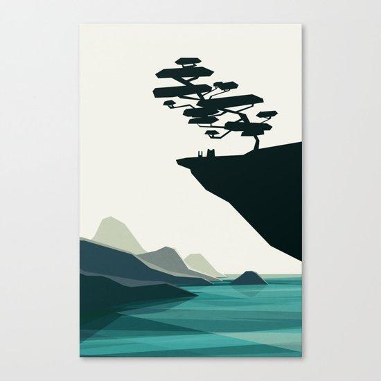beauty trumped vertigo Canvas Print
