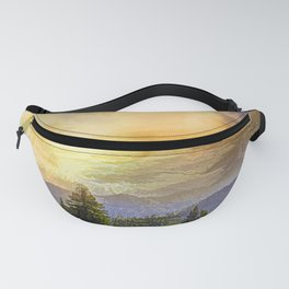 Eagles watch over the Valley Fanny Pack