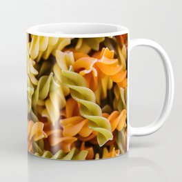 Pasta Noodles Pattern (Color) Coffee Mug