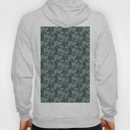 Abstract Geometrical Triangle Patterns 2 Benjamin Moore 2019 Trending Color Hunter Green 2041-10 Hoody