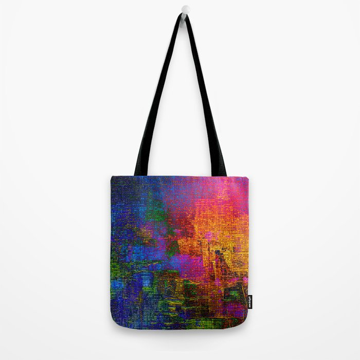 abstract tapestry Tote Bag