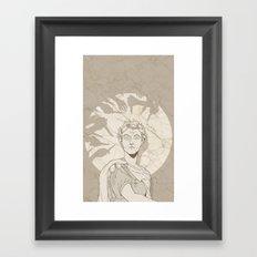 Et tu, Brute? Framed Art Print