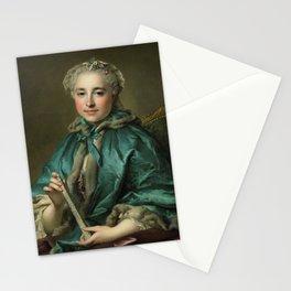 Madame de Livry LOUIS TOCQUÉ 1745 55 Stationery Cards