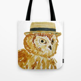 Dapper Owl or Owl Capone? Tote Bag