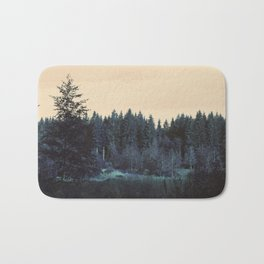 Blue forest Bath Mat