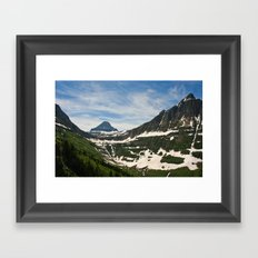 Bear Hat Peak (Glacier National Park) Framed Art Print