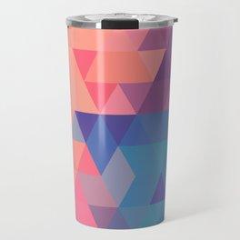 Colorul triangle Travel Mug