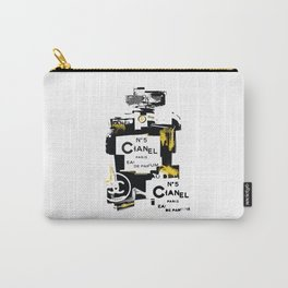 No5 (Black Gold) Pop Art Illustration Carry-All Pouch