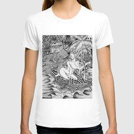 Surf Goddess of Wave Island T-shirt