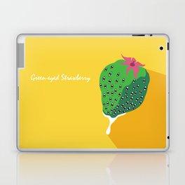 Greeneyed Strawberry Laptop & iPad Skin