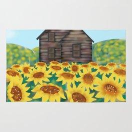 Sunflowers House Rug