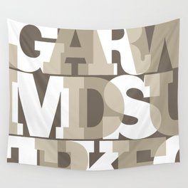Slab Type - Warm Wall Tapestry