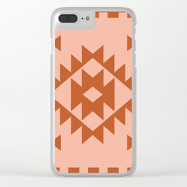 Zili in Peach Clear iPhone Case