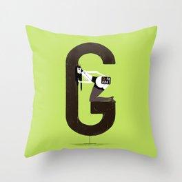 Gemma & Targa Throw Pillow