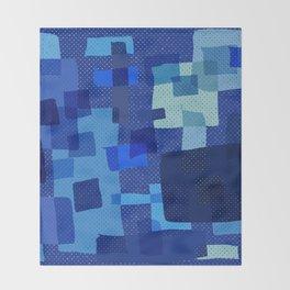 I'm Blue Throw Blanket