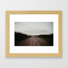 North Framed Art Print