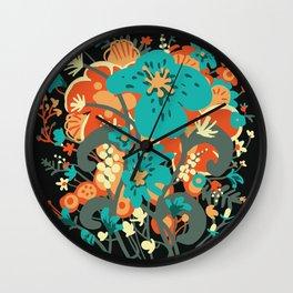 Grettel's Bouquet Wall Clock