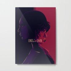 undther the skin - alternative movie poster 02 Metal Print