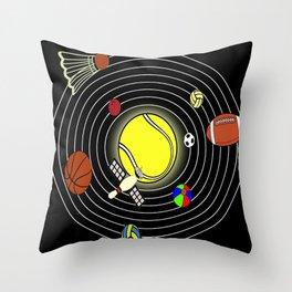 SportyWay Throw Pillow