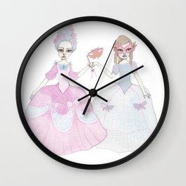 masquerade ball Wall Clock