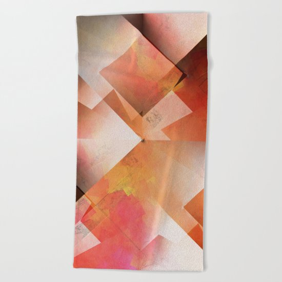 Abstract 2017 018 Beach Towel