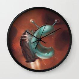 Jetpack Snail Wall Clock