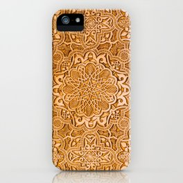 Alhambra lace carving iPhone Case