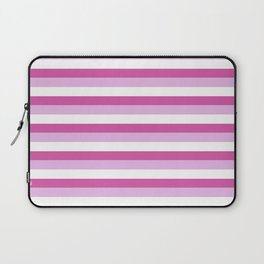 Stripes Of Pink Laptop Sleeve
