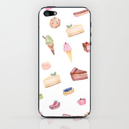 Dessert Time is Every Time iPhone Skin